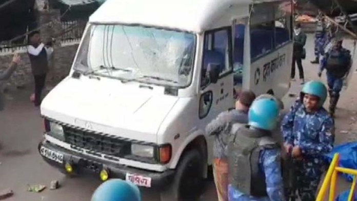 Man shot at amid clashes between police and anti-CAA protesters in Aligarh