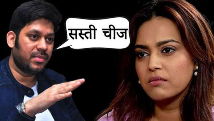 Swara Bhasker slammed Director Raaj Shaandilya for his offensive tweet