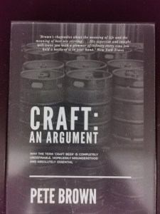 Pet Brown: Craft: An argument