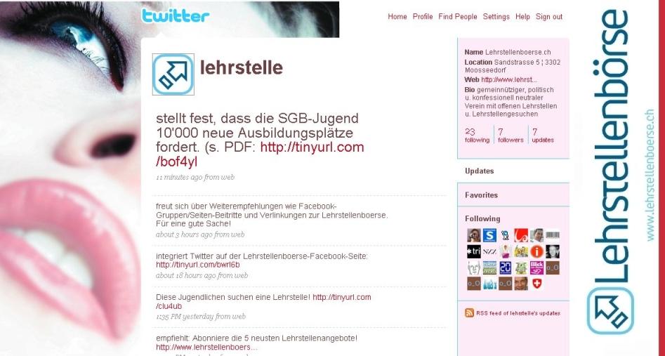 Twitter.com/lehrstelle