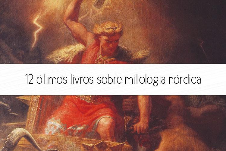 livros sobre mitologia nórdica