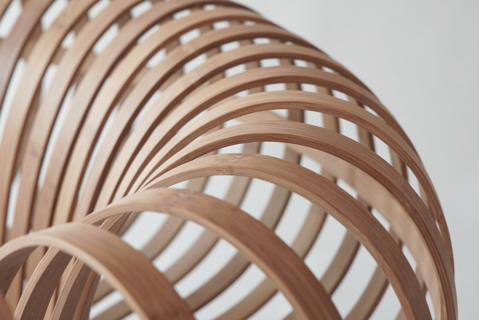 Jin Kuramoto Designed A Bamboo Chair Titled A New Layer II. By Combining  Both The Handmade Bamboo Bending Process To The Natural Indigo Dyed  Technique ...