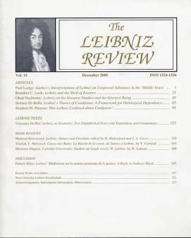 Vol. 15 (2005)