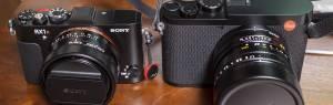 Leica Q2とRX1RM2