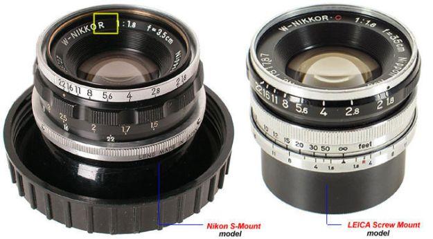 W Nikkor35mmf18 LTM