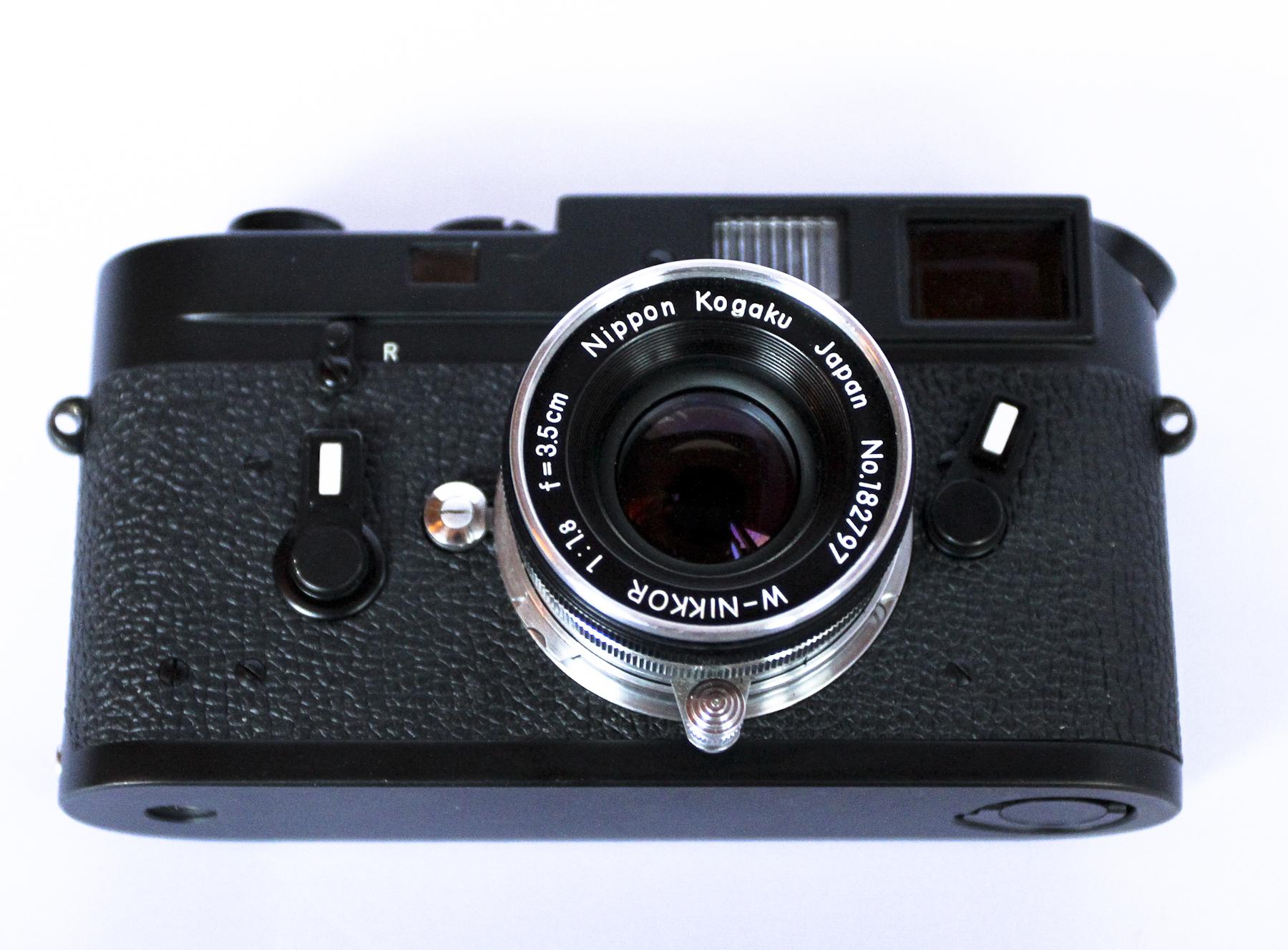 My Black Chrome Leica M4