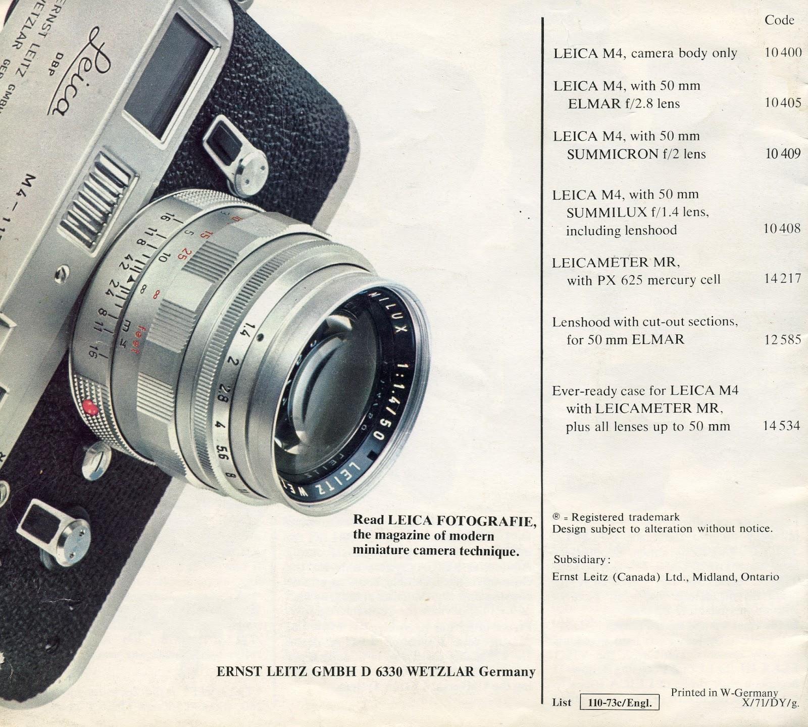 Leica M4 | Leicaphilia