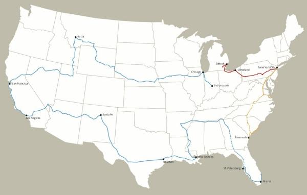 Franks Map