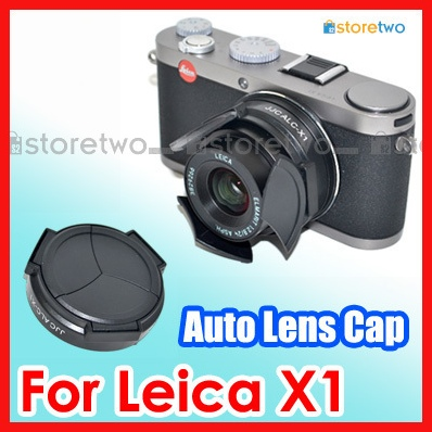 Auto lens cap for Leica X1