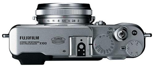 fuji x100 top Fuji X100 vs. Leica X1 specs comparison