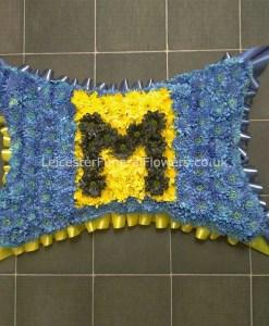 Funeral Pillow Custom Letter Square