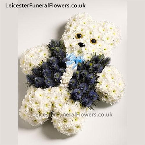 Teddy Bear Funeral Flowers Leicester