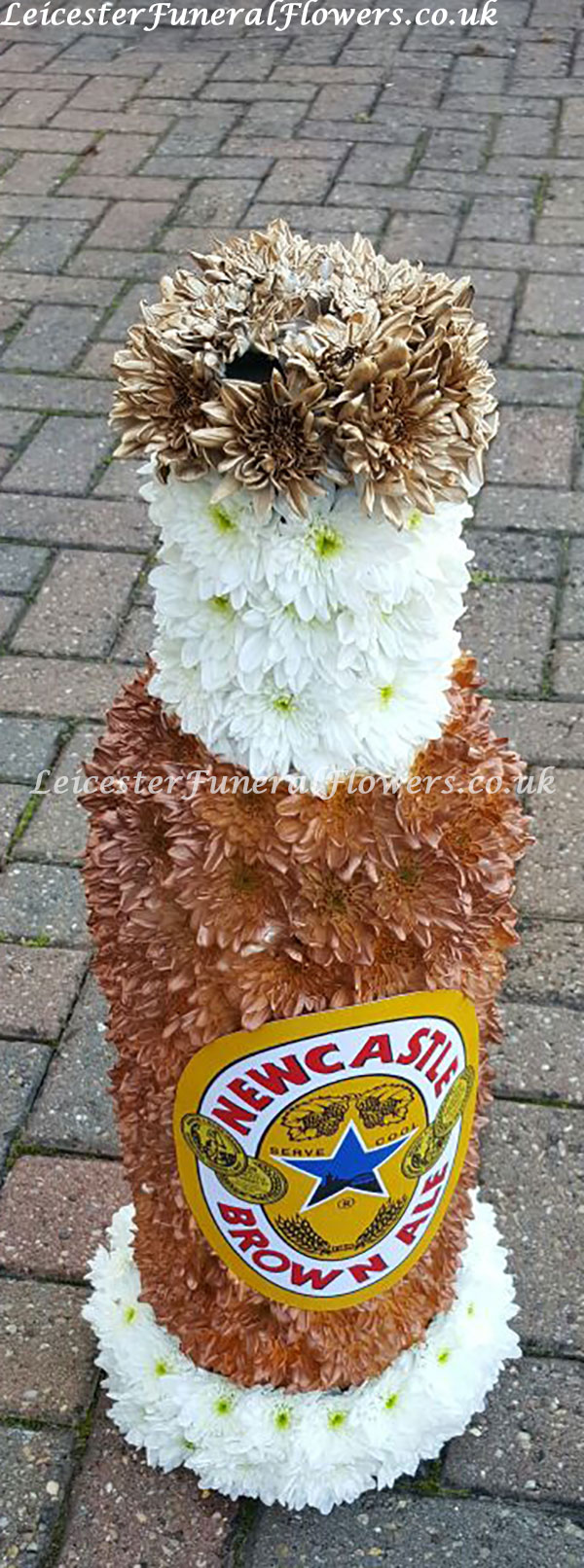 Newcastle brown ale special funeral tribute funeral flowers leicester izmirmasajfo