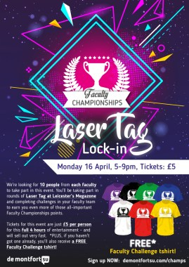 Faculty-Champs-laser-tag-a4-poster