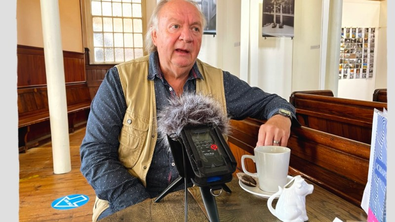Leicester Stories – Tony Shelley Capturing the Silence