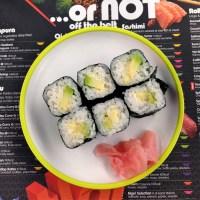 Vegan options at Yo! Sushi