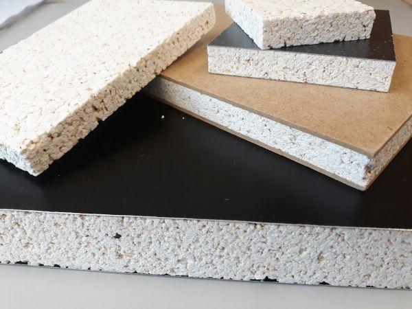 Sandwichplatten – beschichtete Popcornverbundplatten.