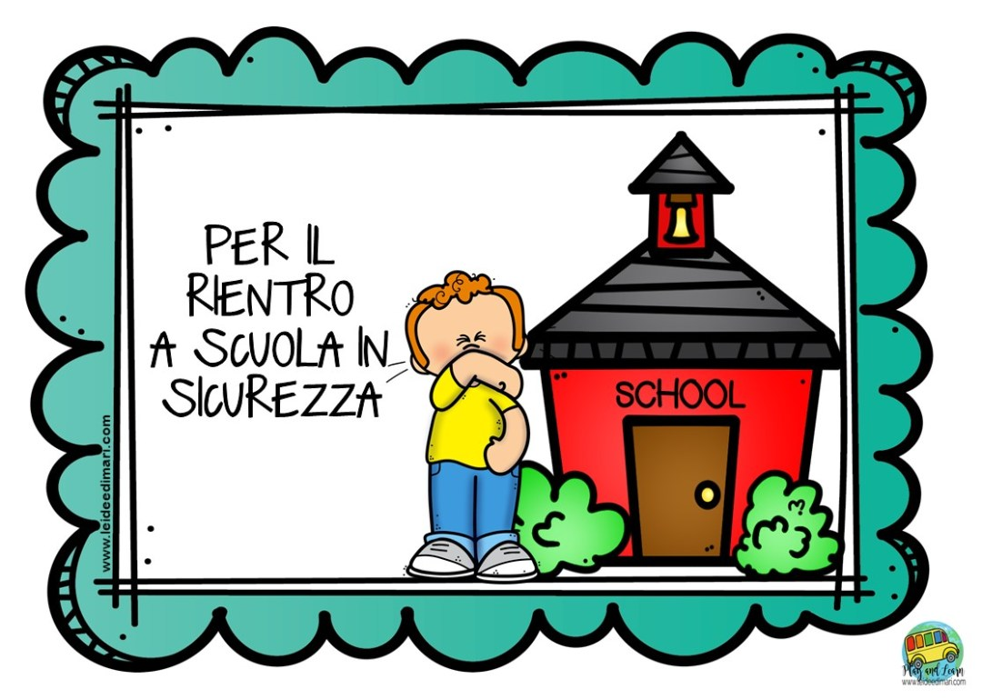 Cartelloni Regole per il rientro a scuola in sicurezza-scuola primaria-playandlearn-