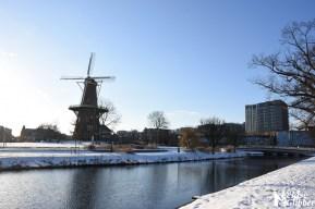 Damwand Maresingel vorst ijs (32)