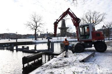 Damwand Maresingel vorst ijs (22)