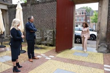 Lakenhal bezoek minister Ingrid van Engelshoven(4)