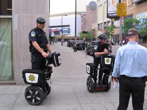 Minneapolis Segway cops