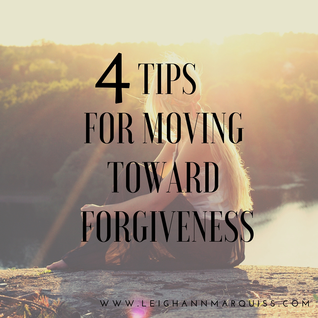 resentment to forgiveness