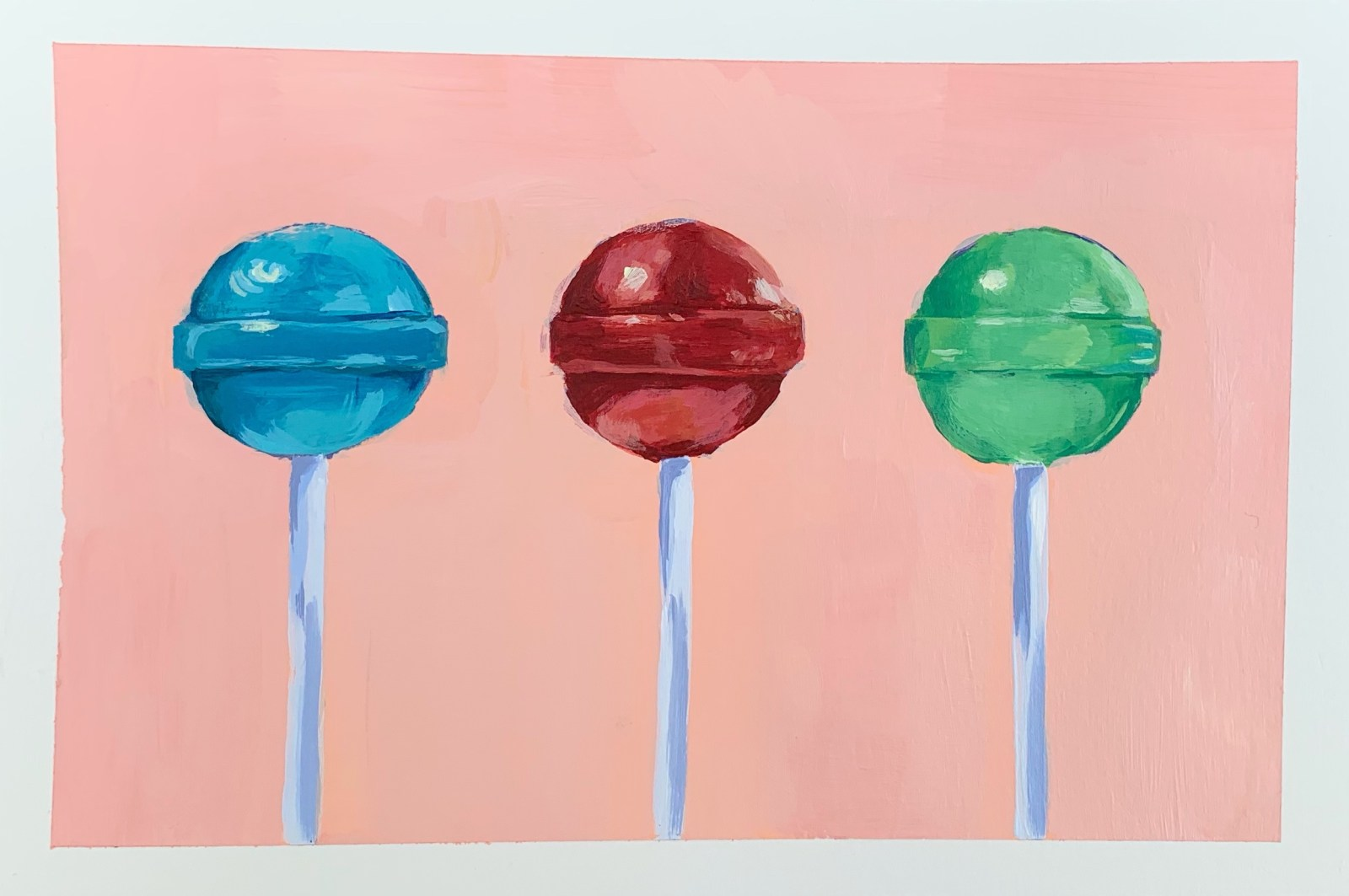 lollipop painting