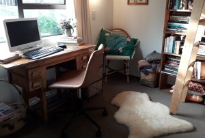My writing space