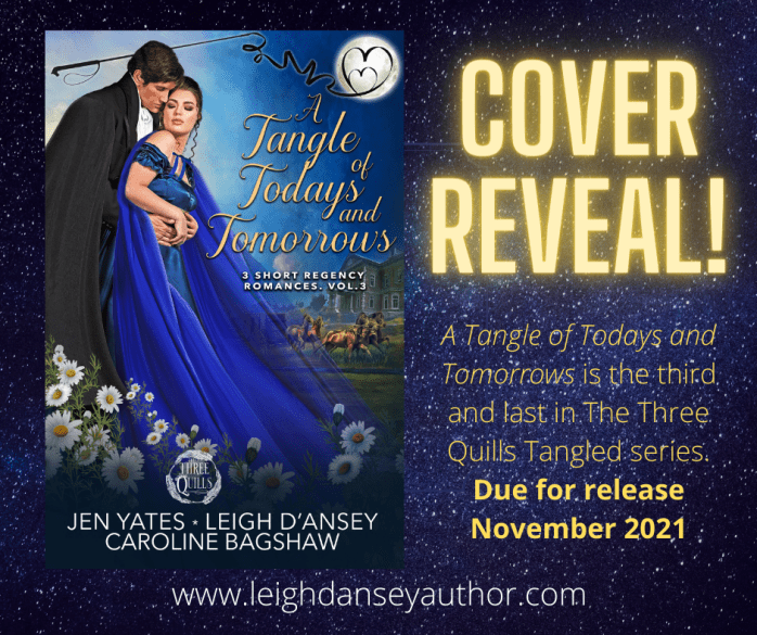 Cover reveal for a Tangle of Todays and Tomorrows