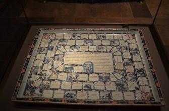 Victoria & Albert Museum 18th Century French Board Game