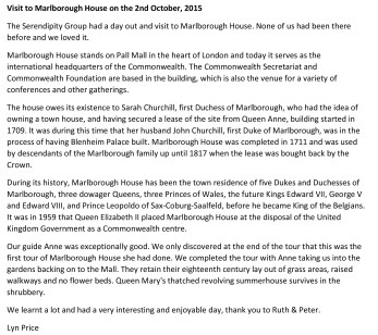 Microsoft Word - Visit to Marlborough House on the 2nd October.d