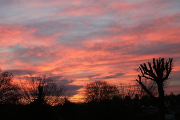 Sunrise viewed from Leigh