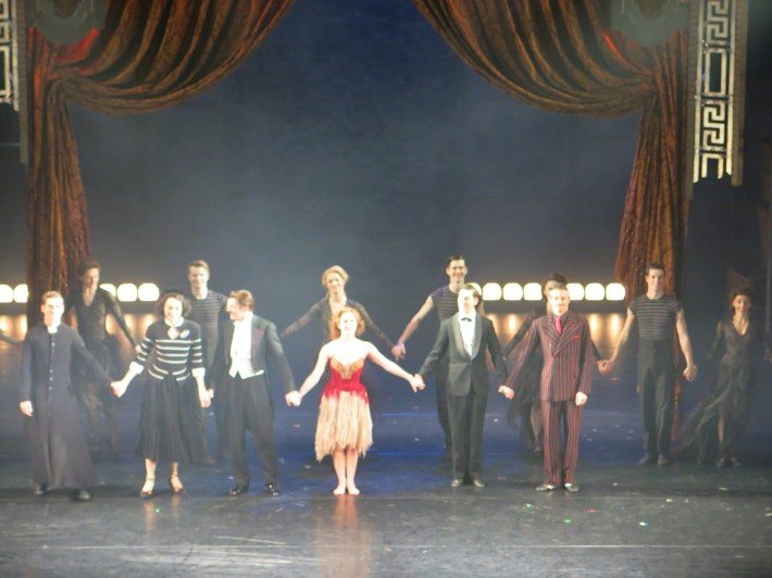 and the cast take a final bow