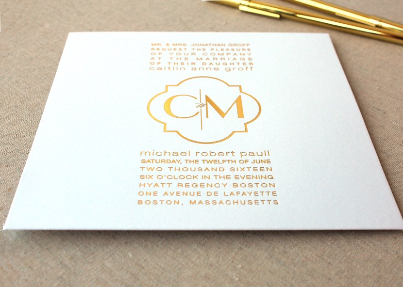 Caitlin_GoldFoil_Invitation