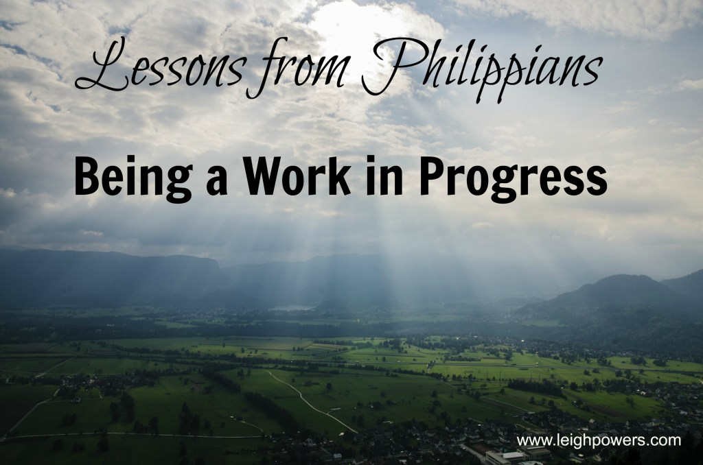 being a work in progress