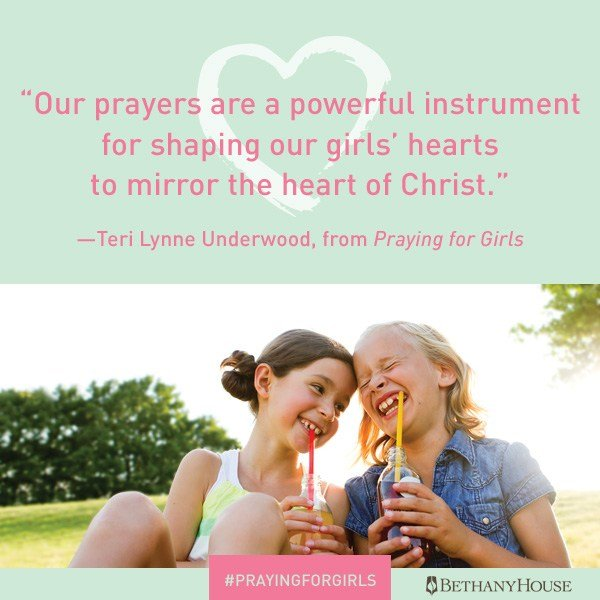 Praying for Girls helps me use Scripture to pray for the things my daughters need most. #bookreview #prayers