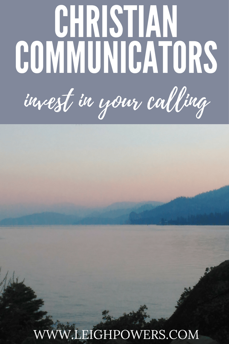 Christian Communicators taught me the importance of investing in my calling. #christianspeakers #christianwriters #CCC2017