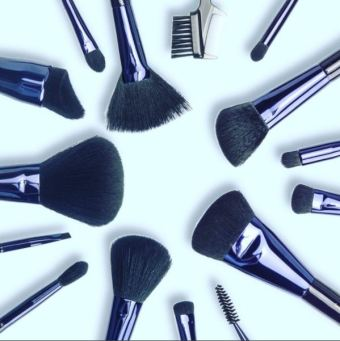 Motives pro makeup brushes