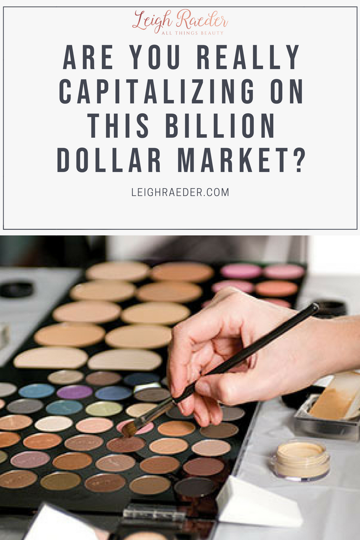 Are You Really Capitalizing on this BILLION DOLLAR Industry? The United States Cosmetics Industry is the largest in the world, estimating a total revenue of $54.89 BILLION! It is projected to grow 3-4% each year.