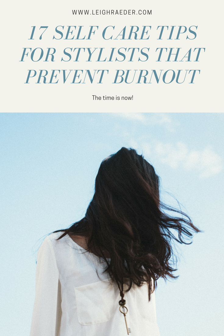 Beauty professionals, If you don't start focusing on self care, you could experience massive burnout. I have tips for you and it's time to prevent it!