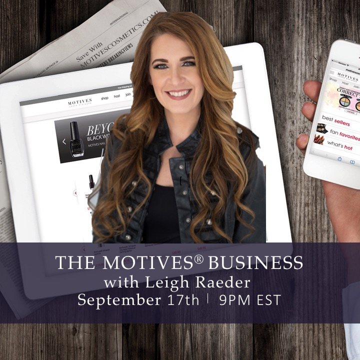 The Motives Cosmetics Business FREE Webinar