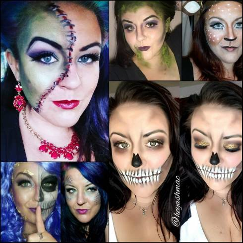 Ash Mac Halloween Makeup Looks