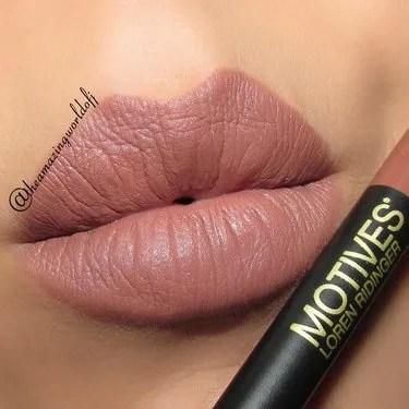 Motives Dusty Rose Lip Crayon