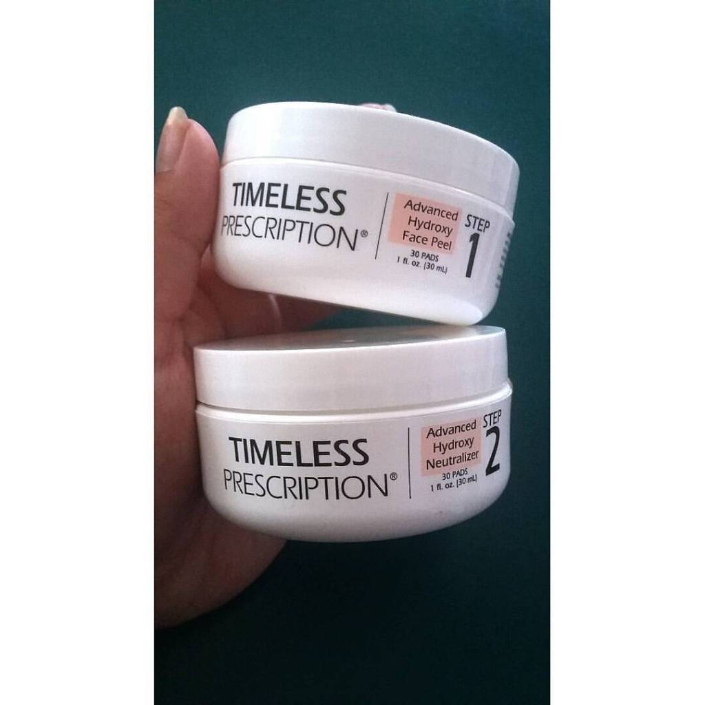 Timeless Prescription Advanced Hydroxy Face Peel and Neutralizer