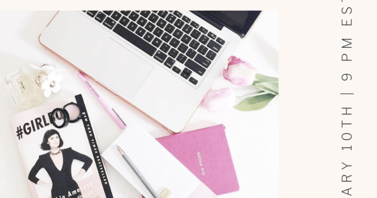 FREE Webinar-So You Want to Be a Blogger?
