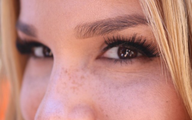The Secret to Full Long Lashes