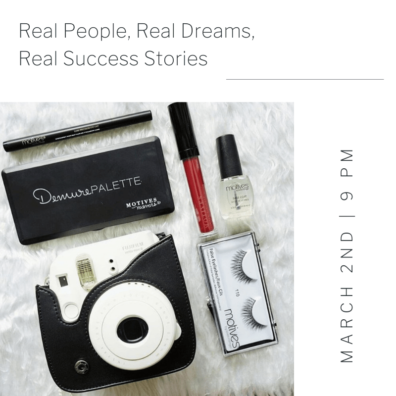 FREE WEBINAR-Real People, Real Dreams, Real Success Stories