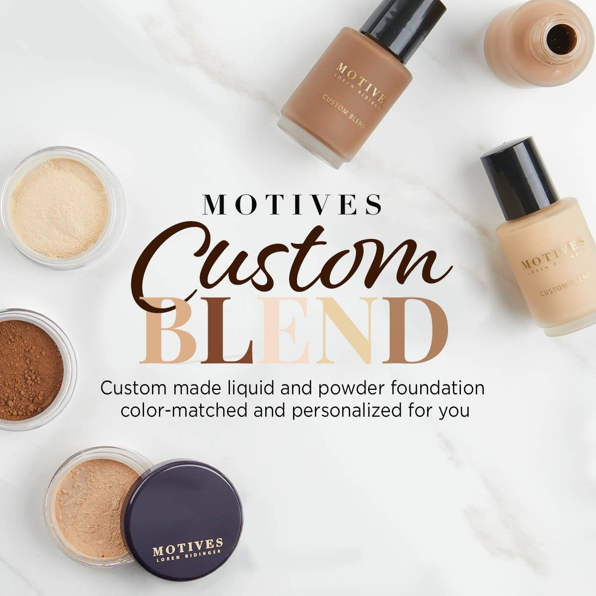 NEW Custom Blend Foundation Online Analysis