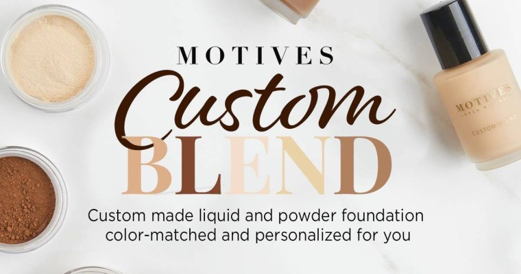 NEW Custom Blend Foundation Online Analysis